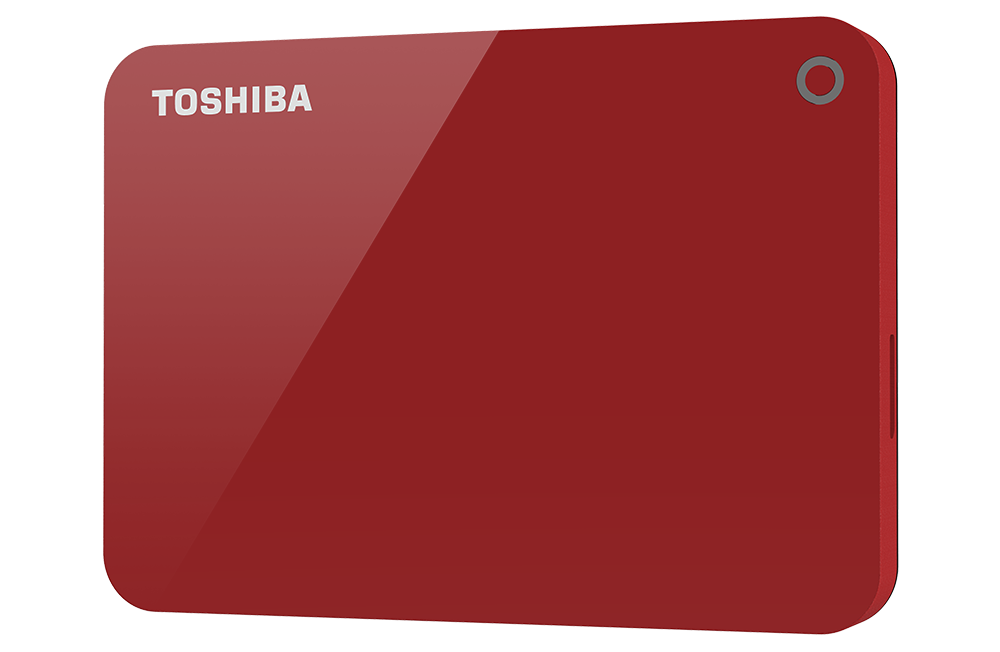 TOSHIBA UNVEILS NEW CANVIO  PORTABLE HARD DRIVES